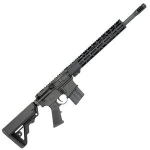 "Rock River Arms CM Mid-Length A4 .450 Bushmaster Semi Auto Rifle 16"" Barrel RRA 13"" Free Float M-LOK Hand Guard Carbine Stock Matte Black"