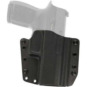 Galco Corvus Belt Holster GLOCK 17/22/31 Right Handed Kydex Black