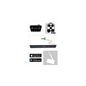 TRAINSHOT Range Kit, BT Electronic Unit, Extension Bar and Ten Circle Targets TSUSA-0111