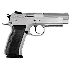 "EAA Tanfoglio Witness Steel Semi-Automatic Handgun .38 Super 4.5"" Barrel 17 Rounds Wonder Finish"