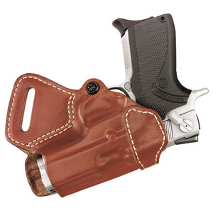 Gould & Goodrich Gold Line 806 Small of Back Holster Right Hand Fits GLOCK 17/19/36 Leather Chestnut Brown