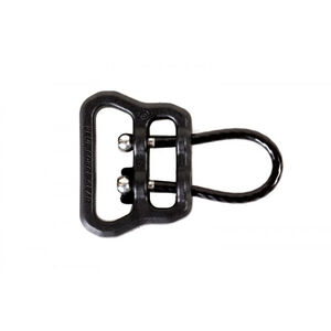 """Blue Force Gear ULoop 1"""" webbing slot Black Quick release wire loop quieter and more secure than HK Style and MASH hooks UWL-UL1-100-BK"""