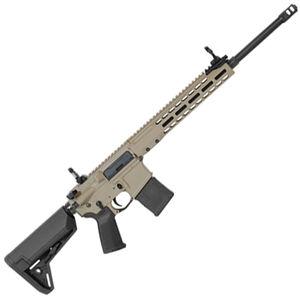 "Barrett REC7 DMR AR-15 Semi Auto Rifle 5.56 NATO 18"" Barrel 20 Round Magazine Gas Piston System Enhanced M-LOK Hand Guard 6-Position Stock Cerakote FDE Finish"