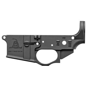 Spike's Tactical Gadsden AR-15 Stripped Lower Receiver Multi Caliber Marked Aluminum Black