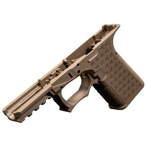 Grey Ghost Precision Combat Pistol Frame Compact GLOCK 19 Gen 3 Style Serialized Stripped Pistol Frame Flat Dark Earth