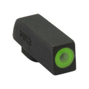 Meprolight Hyper-Bright Tritium Suppressor Height Front Day and Night Sight Green Ring for Kimber 1911