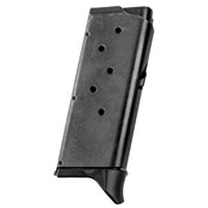 Remington RM380 Magazine .380 ACP 6 Rounds Finger Extension Steel Black 17679