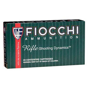 FIOCCHI .243 Winchester Ammunition 200 Rounds PSP 100 Grains