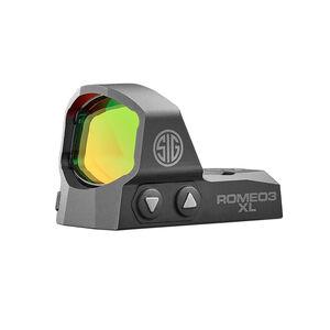 Sig Sauer ROMEO3 XL Open Reflex Sight 6MOA 1x35mm Black Tactical Red Dot