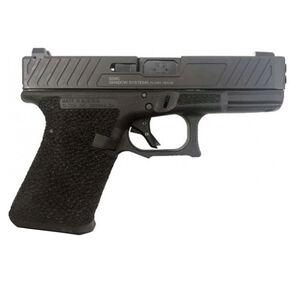 "Shadow Systems SG9C 9mm Luger Semi-Auto Handgun 4.01"" Black Barrel No Magazine Stippled Frame Enhanced Slide Black"