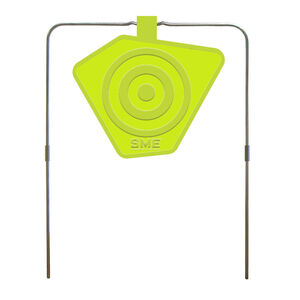 SME 8in Self Healing Gong Target .22 to .50 cal Rifle and Pistol Reactive Target Polymer