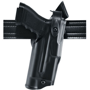 Safariland ALS/SLS Mid-Ride Duty Belt Holster Fits GLOCK 20/21 with Light Right Hand Hardshell STX Plain Black