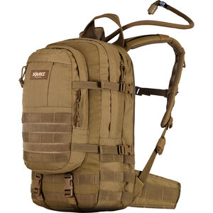 Source Tactical Assault 20 Liter Hydration Cargo Pack, Nylon, Coyote, MOLLE Compatible