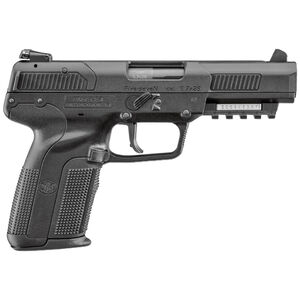 "FNH USA FN Five-Seven 5.7x28mm Semi Auto Pistol 4.8"" Barrel 10 Rounds Adjustable Sights Polymer Frame Matte Black"