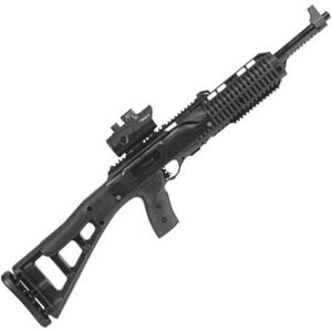"""Hi-Point Firearms Semi Auto Carbine .40 S&W 17.5"""" Barrel Blued 10 Rounds Red Dot Optic Polymer Skeleton Stock Black 4095TSRD"""