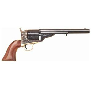 "Cimarron 1872 Open Top Navy Single Action Revolver .38 Special Revolver 7.5"" Barrel 6 Rounds Walnut Grip Blue Finish CA914"