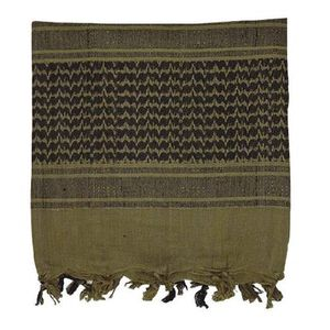 Voodoo Woven Coalition Desert Scarves Cotton 42 x 42 Inches Green/Black