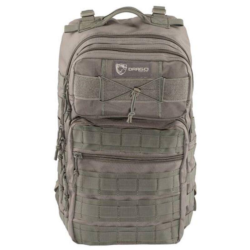 "Drago Gear Ranger 15"" Laptop Backpack MOLLE SEAL Gray"