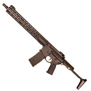 "Noveske Gen 4 N4-PDW AR-15 Semi Auto Rifle 5.56 NATO 16"" Barrel 30 Rounds 15"" NHR Free Float KeyMod Hand Guard Geissele SD-E Trigger Cerakote Black Finish"