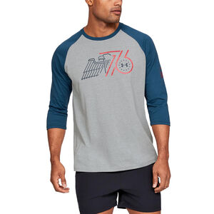 Under Armour Men's Freedom Eagle 3/4 Sleeve T-Shirt