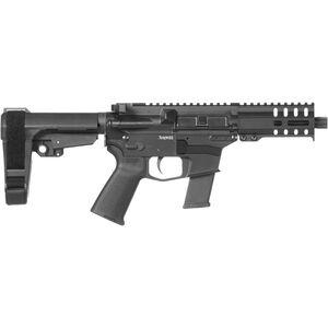 "CMMG Banshee 300 MkG .45 ACP AR-15 Semi Auto Pistol 5"" Barrel 13 Rounds Uses GLOCK Style Magazines RML4 M-LOK Handguard CMMG Micro/CQB RipBrace Graphite Black Finish"