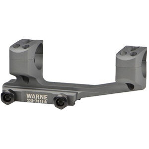 Warne X-Skel Mount 34mm 20 MOA Aluminum Gray