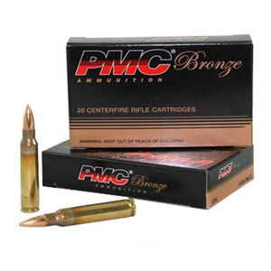 PMC Bronze .50 BMG 660 Grain FMJBT 10 Round Box
