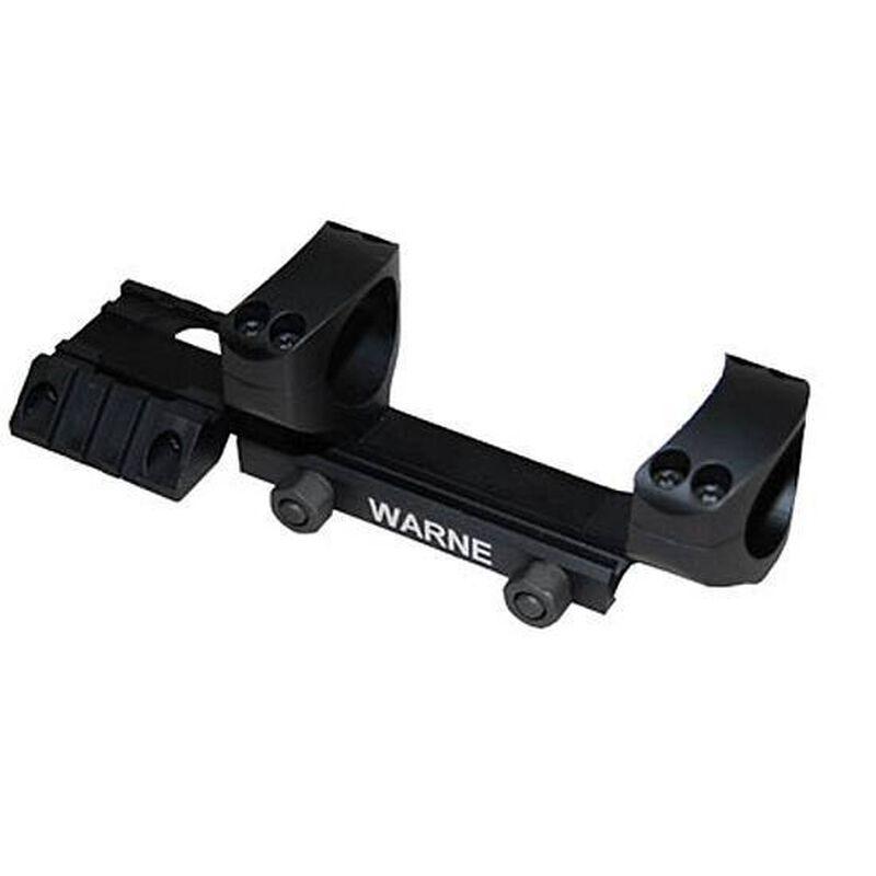 "Warne R.A.M.P. Cantilever AR-15 1"" Scope Mount Aluminum Matte Black RAMP1"