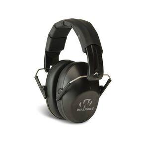 Walker's Game Ear Pro Low Profile Earmuffs Black GWPFPM1BC