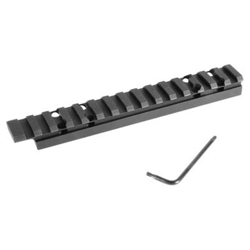 Evolution Gun Works Browning A-Bolt Long Action Picatinny Rail Scope Base 0 MOA Aluminum Black 43100