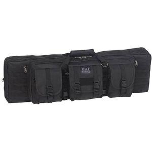 """Bulldog Tactical Rifle Case Polyester Canvas 37"""" Black"""