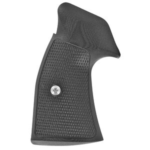 VZ Grips Tactical Diamond Grip Set For Smith&Wesson K/L Frame Square Butt G-10 Black