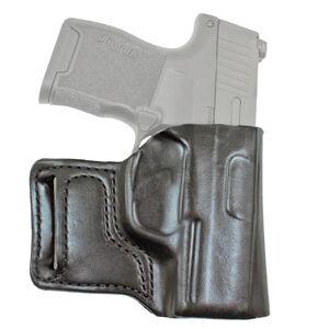DeSantis E-Gat Slide Belt Holster Fits SIG P238/Springfield 911 Right Hand Leather Black