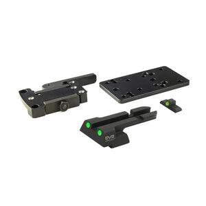 Meprolight MicroRDS H&K VP9 Quick Detach Adapter and Backup Sights Black ML881505