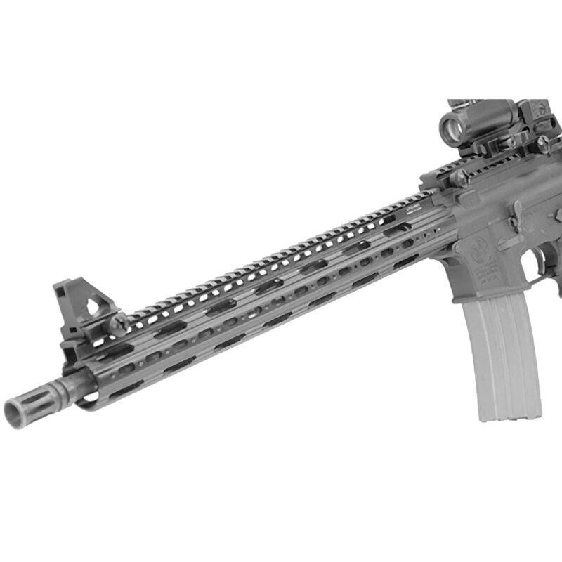 "Leapers UTG PRO AR-15 Super Slim Free Float Handguard 15"" Aluminum Black MTU019SS"
