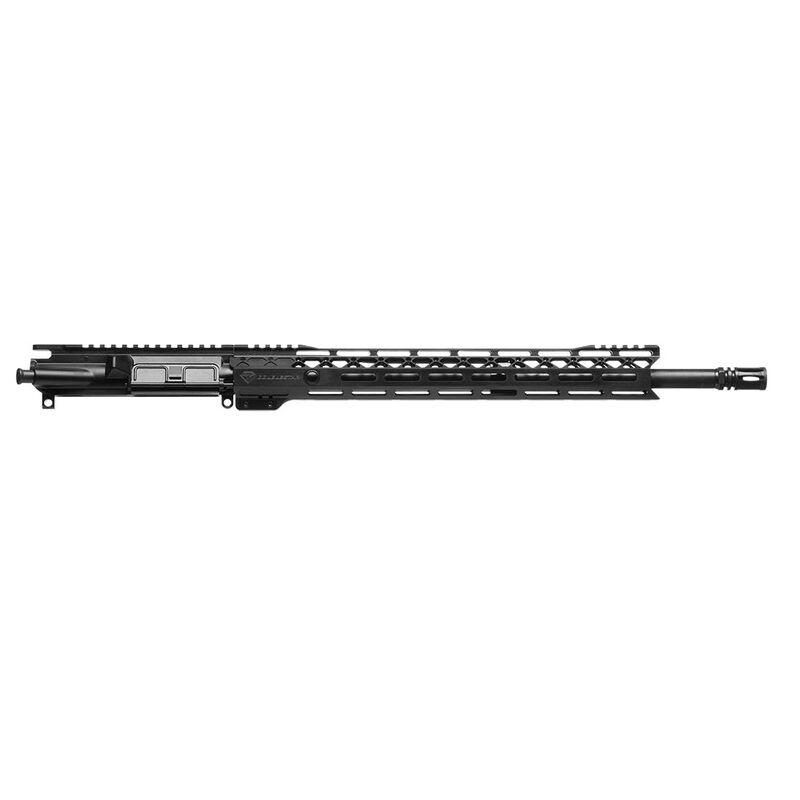 """DoubleStar AR-15 .22 Nosler 18"""" HBAR Barrel Standard Flattop Upper Assembly"""