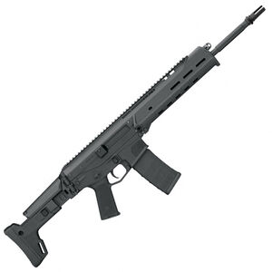 "Bushmaster ACR Basic Semi Auto Rifle 5.56 NATO 16.5"" Barrel 30 Round Magazine Folding/Seven-Position Telescoping Stock Adjustable Gas Piston Matte Black"