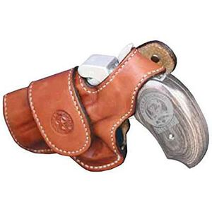 Bond Arms Driving Holster Snakeslayer IV Left Hand Thumb Break Leather Tan 7-BADSSIV