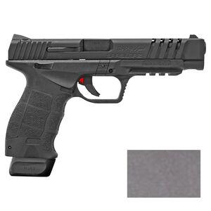 "Sarsilmaz USA SAR 9 Sport Semi Auto Pistol 9mm Luger 5.2"" Barrel 17 Rounds Fixed Sights Striker Fired Accessory Rail Polymer Frame Platinum Finish"