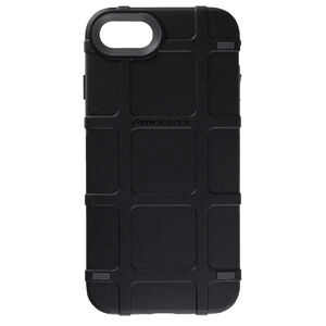 Magpul Bump Case Apple iPhone 7/8 Rigid Thermoplastic Outer Shell with Shock Absorbing Inner Layer/PMAG Style Ribs Black