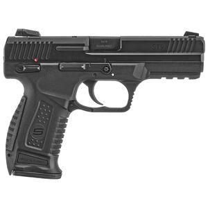 "SAR USA ST9 9mm Luger Semi Auto Pistol 4.5"" Barrel 17 Rounds 3-Dot Sights Polymer Frame Black"