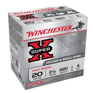 """Winchester Super-X 20 Ga 2.75"""" #6 Lead 1oz 25 Rounds"""