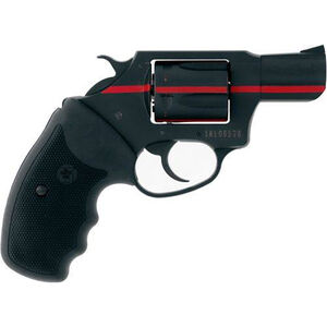 "Charter Arms 911 Red .38 Special Revolver 2"" Barrel 5 Rounds Steel Cylinder Aluminum Alloy Frame Rubber Grips Black with Red Line"