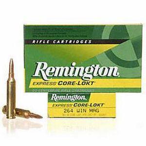 Remington .264 Winchester Magnum Ammunition 20 Rounds PSP 140 Grains