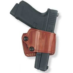 Gould & Goodrich Gold Line Yaqui Slide GLOCK 20, 21, 29, 30, 37, HK USP, Ruger P and K Series Belt Holster Right Hand Leather Tan 801-G20