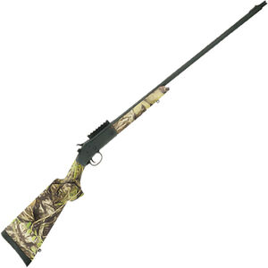 "Savage Stevens 301 Turkey .410 Bore Single Shot Break Action Shotgun 26"" Barrel 3"" Chamber 1 Round Bead Sight Picatinny Rail Mount MO Obsession Camo Synthetic Stock Matte Black Finish"