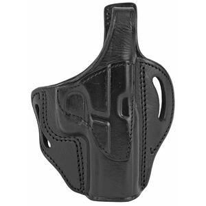 Tagua Gunleather Standoff TX-BH1 OWB Holster Fits GLOCK 17/22/31 Models Right Hand Draw Thumbreak Snap Leather Black