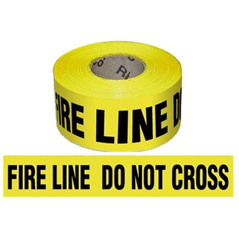 "Pro-Line Barricade Tape 1000' ""Fire Line"" Tape 3"" Width BT04"