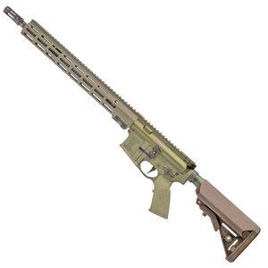 """Geissele SD556 Super Duty Rifle 5.56 NATO Semi Auto Rifle 16"""" Barrel 15"""" M-LOK Handguard SSA-E X Trigger OD Green"""