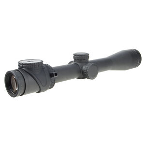 Trijicon AccuPoint 2.5-12.5x42 Riflescope with Standard Duplex Crosshair, Green Triangle Post Reticle, 30mm Tube